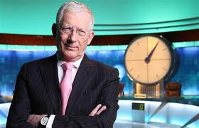 Nick Hewer: A man in need of a holiday, apparently.