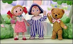 Looby Loo, Andy Pandy and Teddy: for the avoidance of doubt, they were all great friends who loved each other very much.