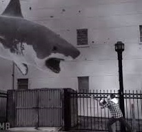 Sharknado - a still from the film. Yes, really.
