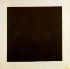 Evidently sensing he was onto a winner, Malevich painted at least four of these.  And a red one.