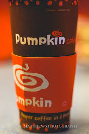 How I love Google images! But wait: there's no sign of the plastic lid in this photo! Could it be that the good people at the Pumpkin Café are already alert to the health and safety tightrope they're treading? Are they avoiding drawing attention to the potential death trap that is this shape-shifting container cover? I hope not, dear reader. I hope not.